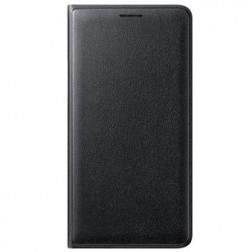 """""""Samsung"""" Flip Wallet Cover atvērams maciņš - melns (Galaxy J1 2016)"""