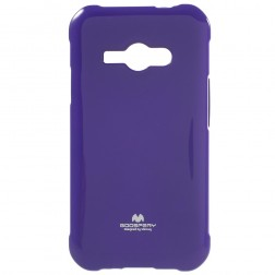 """Mercury"" apvalks - violeta (Galaxy J1 Ace)"