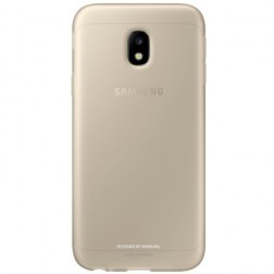 """Samsung"" Jelly Cover TPU apvalks - zelta (Galaxy J3 2017)"