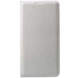 """""""Flip Wallet"""" atvēramais ādas maciņš - balts (Galaxy J3 2017)"""
