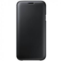 """""""Samsung"""" Wallet Cover atvērams maciņš - melns (Galaxy J7 2017)"""