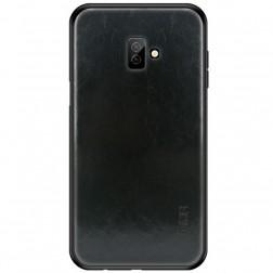 """Mofi"" Pu Leather futrālis - melns (Galaxy J6+ 2018)"