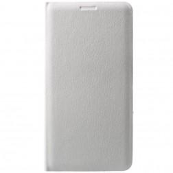 """""""Flip Wallet"""" atvēramais ādas maciņš - balts (Galaxy J7 2017)"""