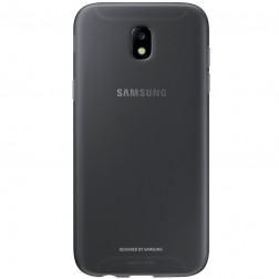 """Samsung"" Jelly Cover TPU apvalks - melns (Galaxy J7 2017)"