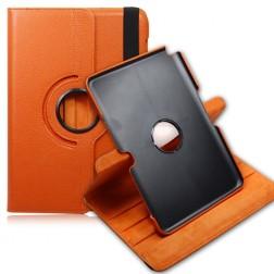 Klasiskais 360° atvēramais futrālis - oranžs (Note 10.1)
