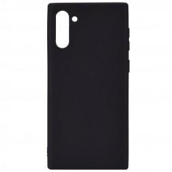 Planākais TPU apvalks - melns (Galaxy Note 10)