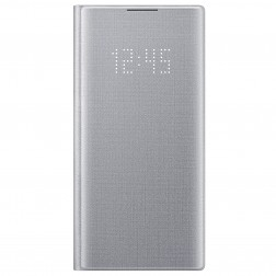 """Samsung"" Led View Cover atvērams maciņš - sudrabs (Galaxy Note 10)"