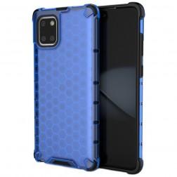 """""""Honeycomb"""" pastiprinātas aizsardzības apvalks - zils (Galaxy Note10 Lite)"""