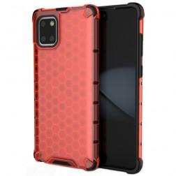 """""""Honeycomb"""" pastiprinātas aizsardzības apvalks - sarkans (Galaxy Note10 Lite)"""