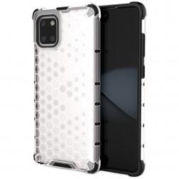 """""""Honeycomb"""" pastiprinātas aizsardzības apvalks - dzidrs (Galaxy Note10 Lite)"""