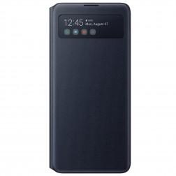 """""""Samsung"""" S View Wallet Cover atvērams maciņš - melns (Galaxy Note10 Lite)"""