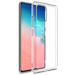 Cieta silikona (TPU) apvalks - dzidrs (Galaxy Note10 Lite)