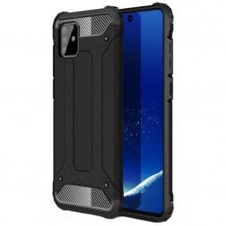 Pastiprinātas aizsardzības apvalks - melns (Galaxy Note10 Lite)