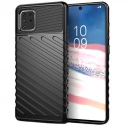 """""""Thunder"""" pastiprinātas aizsardzības apvalks - melns (Galaxy Note10 Lite)"""
