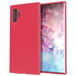 """Lenuo"" cieta silikona (TPU) apvalks - sarkans (Galaxy Note 10+)"