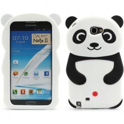 Mīksta silikona - panda (Galaxy Note 2)