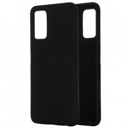 """Shell"" cieta silikona (TPU) apvalks - melns (Galaxy Note 20)"