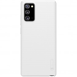 """Nillkin"" Frosted Shield futrālis - balts (Galaxy Note 20)"