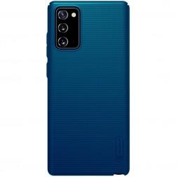 """Nillkin"" Frosted Shield futrālis - zils (Galaxy Note 20)"