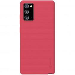 """Nillkin"" Frosted Shield futrālis - sarkans (Galaxy Note 20)"