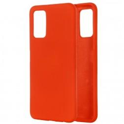 """Shell"" cieta silikona (TPU) apvalks - sarkans (Galaxy Note 20)"