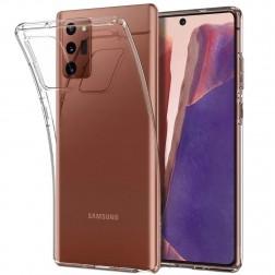 Cieta silikona (TPU) apvalks - dzidrs (Galaxy Note 20)