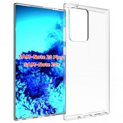 """""""Imak"""" cieta silikona (TPU) apvalks - dzidrs (Galaxy Note 20 Ultra)"""