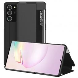 """""""View Line"""" atvērams maciņš - melns (Galaxy Note 20 Ultra)"""