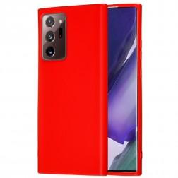 """Shell"" cieta silikona (TPU) apvalks - sarkans (Galaxy Note 20 Ultra)"