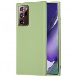 """""""Shell"""" cieta silikona (TPU) apvalks - zaļš (Galaxy Note 20 Ultra)"""