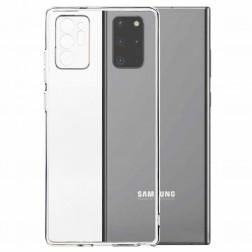 Cieta silikona (TPU) apvalks - dzidrs (Galaxy Note 20 Ultra)