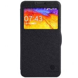 """Nillkin"" Fresh atvēramais futrālis - melns (Galaxy Note 3 Neo)"