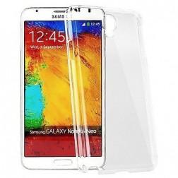 Cieta silikona (TPU) apvalks - dzidrs (Galaxy Note 3)