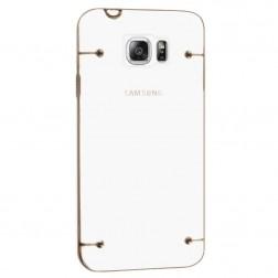 Plastmāsas dzidrs apvalks - zelta (Galaxy Note 5)