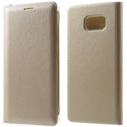 """""""Smart Wallet"""" atvēramais ādas maciņš - zelta (Galaxy Note 7)"""