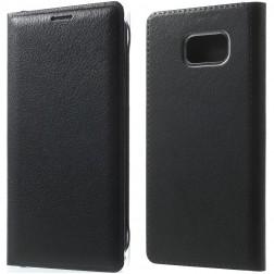 """""""Smart Wallet"""" atvēramais ādas maciņš - melns (Galaxy Note 7)"""