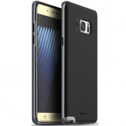 """IPAKY"" cieta silikona (TPU) apvalks - melns / peleks (Galaxy Note 7)"