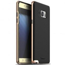 """IPAKY"" cieta silikona (TPU) apvalks - melns / rozs (Galaxy Note 7)"