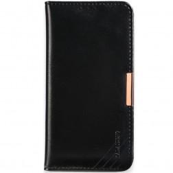 """""""Kalaideng"""" Royale atvēramais maciņš - melns (Galaxy Note 7)"""