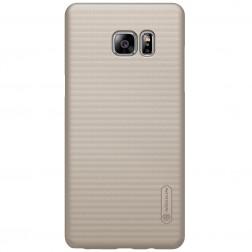 """Nillkin"" Frosted Shield futrālis - zelta + ekrāna aizsargplēve (Galaxy Note 7)"