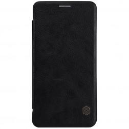 """Nillkin"" Qin atvēramais maciņš - melns (Galaxy Note 7)"
