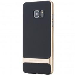 """Rock"" Royce apvalks - melns apmales zeltā krāsā (Galaxy Note 7)"