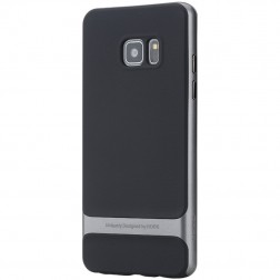 """""""Rock"""" Royce apvalks - melns apmales pelēkā krāsā (Galaxy Note 7)"""