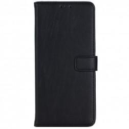 """""""Retro"""" atvēramais maciņš - melns (Galaxy Note 8)"""
