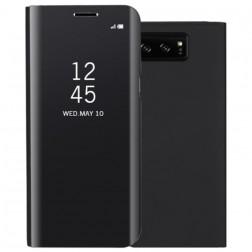 Plastmasas atvērams maciņš - melns (Galaxy Note 8)