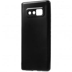 Cieta silikona (TPU) apvalks - melns (Galaxy Note 8)