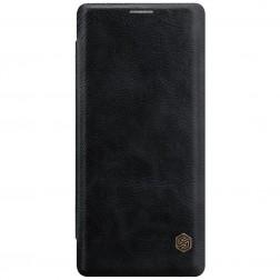 """Nillkin"" Qin atvēramais maciņš - melns (Galaxy Note 8)"