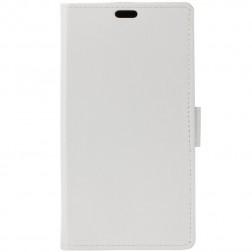 Atvēramais maciņš - balts (Galaxy Note 9)