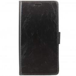 Atvēramais maciņš - melns (Galaxy Note 9)