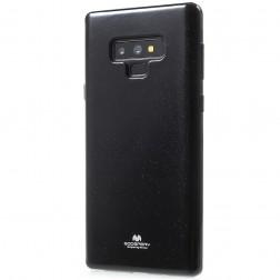 """Mercury"" apvalks - melns (Galaxy Note 9)"